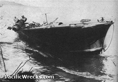 pacific wrecks pt 43 beached cape esperence in the