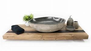 Waschtisch Aus Holz Für Aufsatzwaschbecken : waschtischplatte aus recyceltem holz fliesenonkel ~ Sanjose-hotels-ca.com Haus und Dekorationen