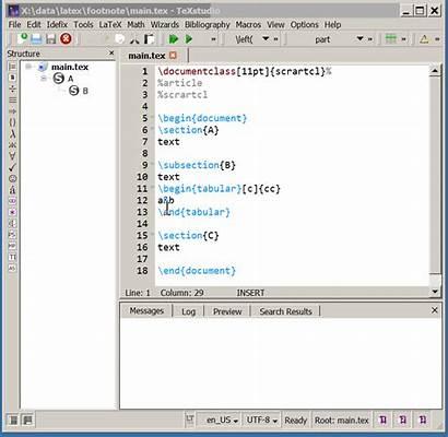 Latex Document Structure Studio Script Tex Learn