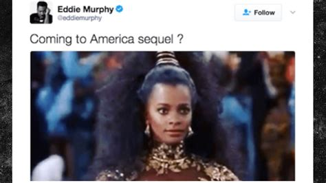 eddie murphy going to america coming to america sequel is happening magic 92 5