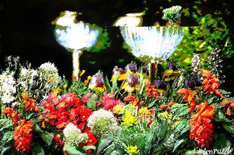 flower bed lights solar garden lights in flower bed gardenpuzzle