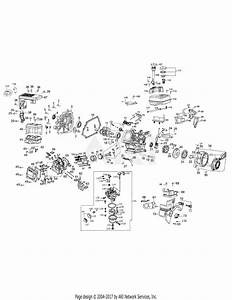 Mtd 31am63ef700  2008  Parts Diagram For Engine Assembly