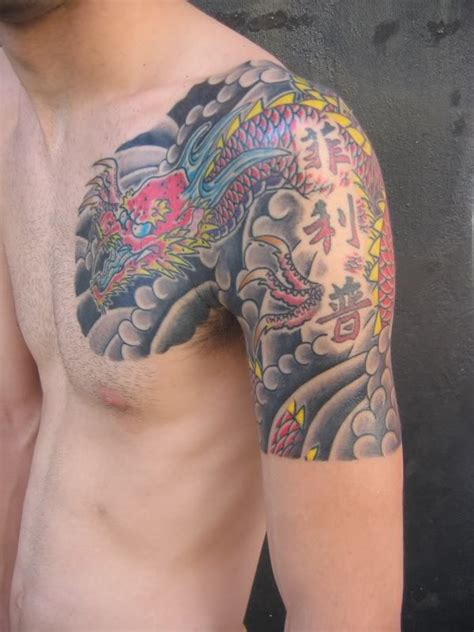 tattoo dragon color nice conrad askland blog