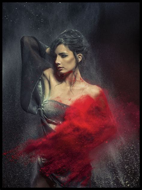hot fashion model photography inspiration  holi festival