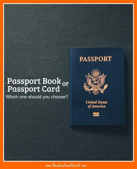 passport book  card choose