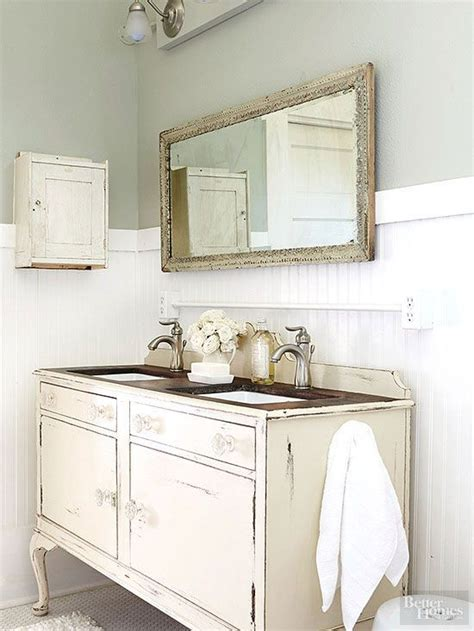 diy shabby chic bathroom vanity vintage bathrooms bathroom and vanities on pinterest