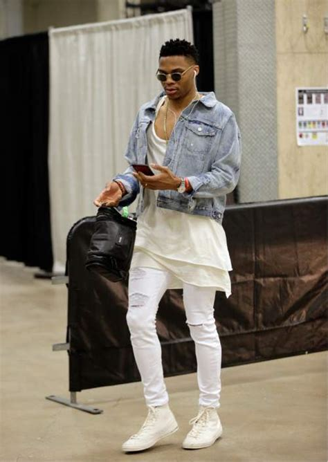 Nba King Of Fashion Russell Westbrook Talks Style The