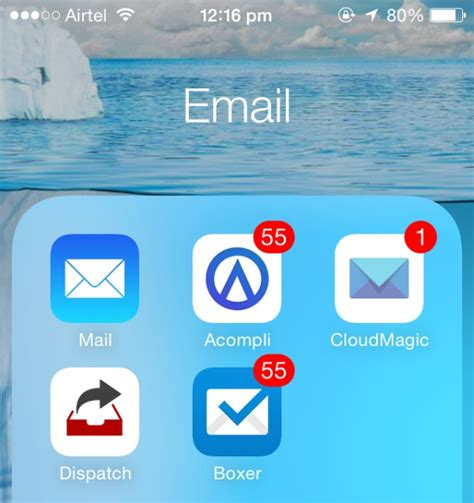 best iphone email app the best email apps for iphone