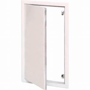 Trappe De Plafond : trappe de visite blanche laqu e 200x400 leroy merlin ~ Premium-room.com Idées de Décoration