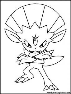 Weavile Coloring Pages