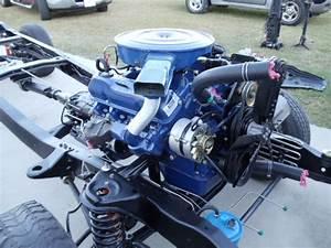 1975 390 Engine Bracket Placement