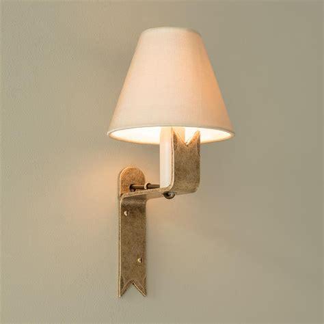 brass wall light cottage lighting iron wall light