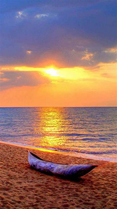 Beach Iphone Wallpapers Sunsets Backgrounds Sunset Phone