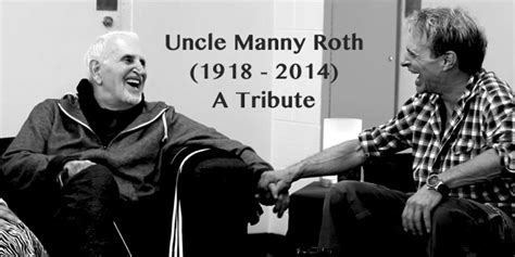 tribute to uncle manny roth 1918 2014 van halen news