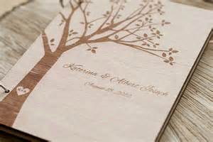 rustic wedding photo albums wood wedding guest book wedding guestbook modern custom