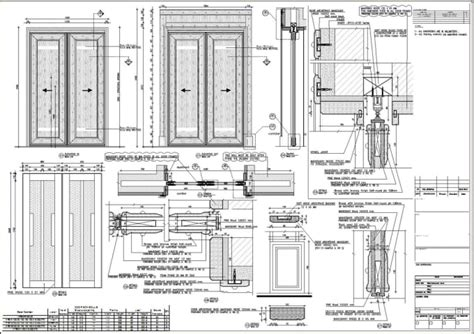 develop furniture millwork shop drawings  autocad