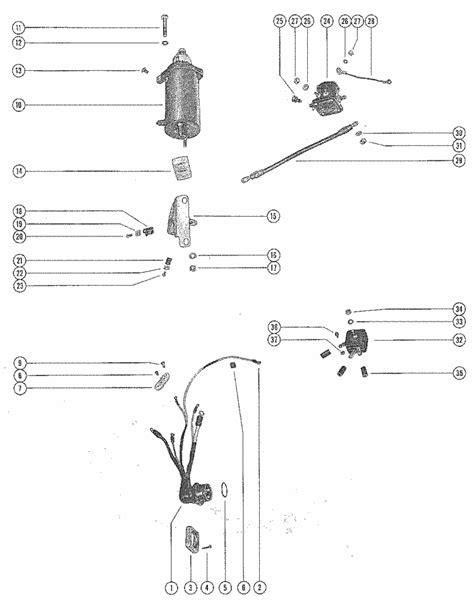 Mercury 650 Wiring Diagram by Mercury Marine 650 4 Cylinder Starter Motor Starter