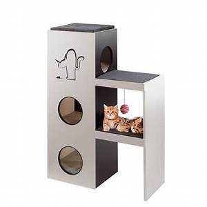 Arbre A Chat Moderne : arbre chat napol on arbre chat ferplast wanimo ~ Melissatoandfro.com Idées de Décoration