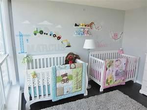 Babyzimmer Junge Wandgestaltung : babyzimmer m dchen und junge einige kombinierte einrichtungsideen ~ Eleganceandgraceweddings.com Haus und Dekorationen