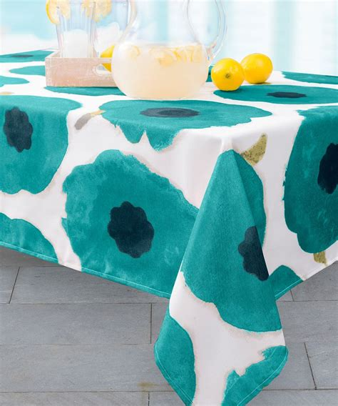 spill proof tablecloth teal spill proof indoor outdoor tablecloth teal 2427