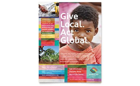 nonprofit flyer examples templates examples