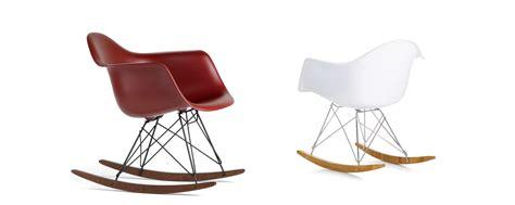 chaise a bascule rar eames vitra eames plastic armchair rar