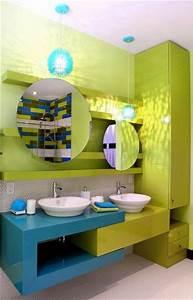 salle de bain d39enfants pas de chicane un lavabo pour le With salle de bains enfant