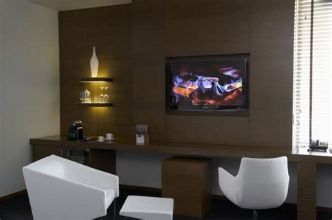front desk in calgary hotel le germain calgary design by lemaymichaud