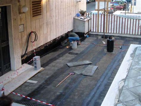 Impermeabilizzare Un Terrazzo Pavimentato by Massetto Per Esterno Pavimenti A Roma