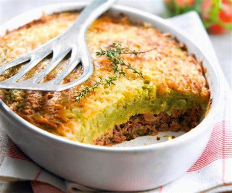 cuisiner pour pas cher recette équilibré hachis parmentier diététique