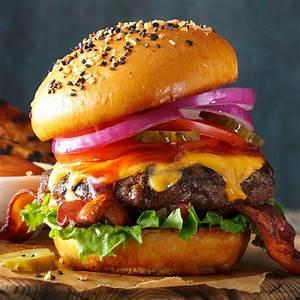 Whos Perfect Hamburg : barbecued burgers recipe taste of home ~ Orissabook.com Haus und Dekorationen
