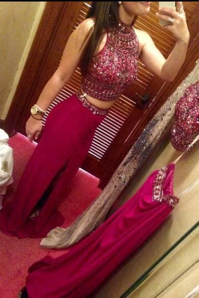 red prom dresssexy  neck backless long prom dresses