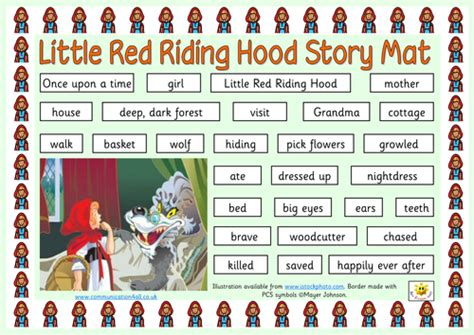 Red Riding Hood Traditional Tales Collection By Bevevans22