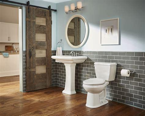 logan square  centers petite pedestal bathroom sink