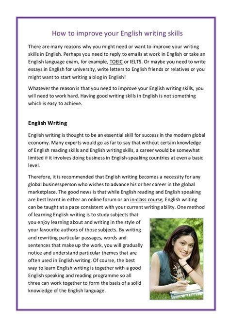 Essay About Improving Writing Skills  Drugerreport732web. Free Sample Of Resume In Word Format. Sample Of Resume For Accounting Position. Senior Administrative Assistant Resume Sample. Theatre Resume Sample. Sample Resume For Construction. Sample Resume For A Job. Should Cover Letter Be On Resume Paper. What To Put In Objectives In Resume