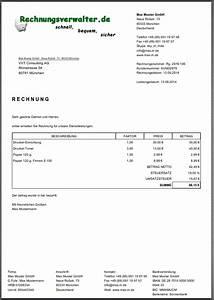 Blau De Rechnung Online : mit rechnungsverwalter erzeugte dokumente ~ Themetempest.com Abrechnung
