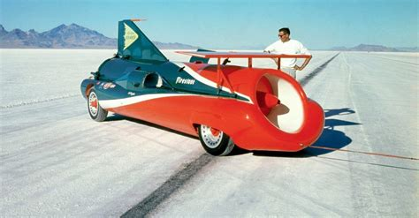 These Are The 10 Fastest Land Speed Record Cars Ever | HotCars