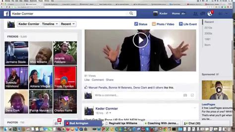 How To Change Facebook Video Thumbnail Fast  2018 Youtube