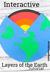 Interactive Earth Science Activity  Layers Of The Earth
