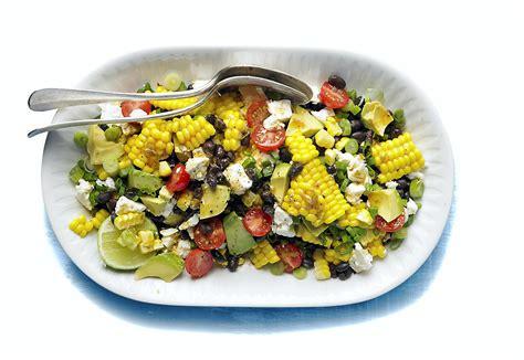 salade texane au maïs régal