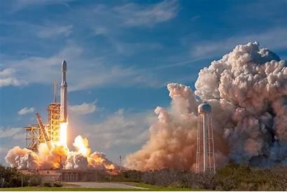 Falcon Heavy Launch Rocket Spacex Nasa Satellite