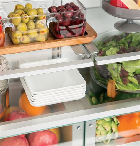 monogram zippnhss   stainless steel counter depth french door refrigerator   cu