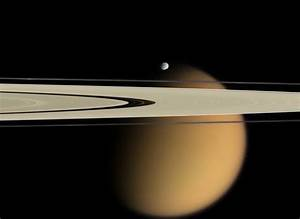 Gallery: Saturn Moons Show How Not To Be Seen In Cassini ...