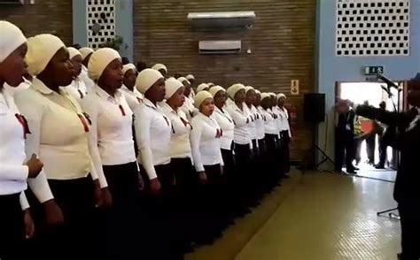Ul The Zcc St Engenas Serenating The Ceremony With Their