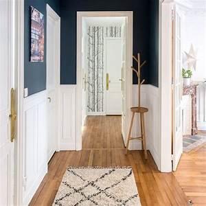 Tendance Papier Peint Couloir : peinture couloir quelle couleur pour plus d 39 clat c t maison ~ Melissatoandfro.com Idées de Décoration