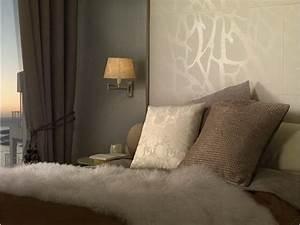 Tapeten Muster Wände : tapeten schlafzimmer sch ner wohnen ~ Sanjose-hotels-ca.com Haus und Dekorationen