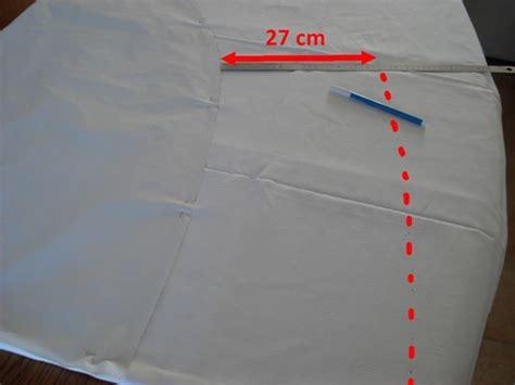comment confectionner une nappe ovale