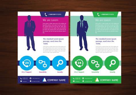 vector brochure flyer design layout template   size