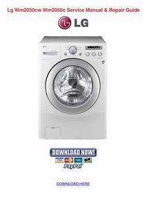 Pdf Manual For Lg Washer Wm2050cw