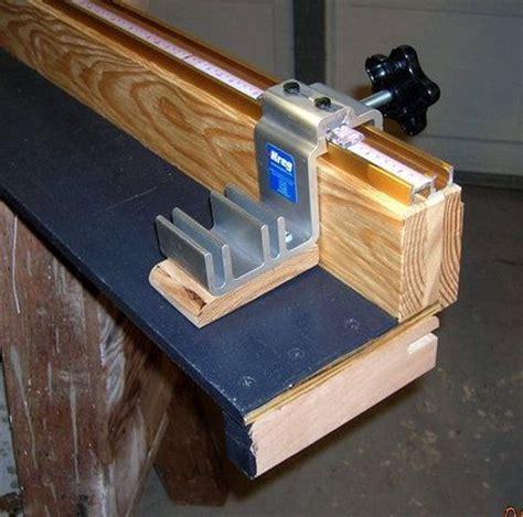 custom fence extension  miter  workshop